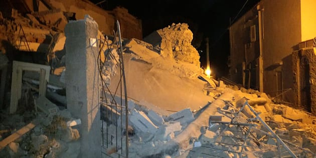 A church and several other historic buildings collapsed in the historic island town of Ischia, off the coast of Naples, at 9pm Monday local time.