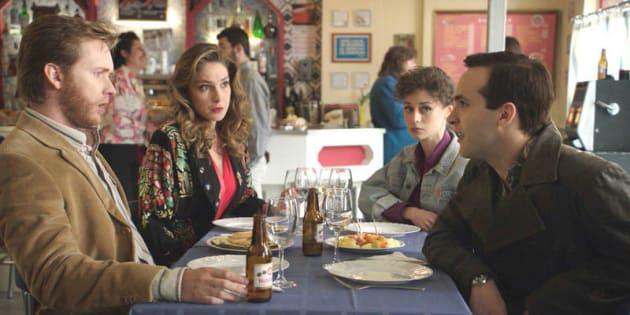 Toni y Carlos en el episodio de este jueves de 'Cuéntame'.