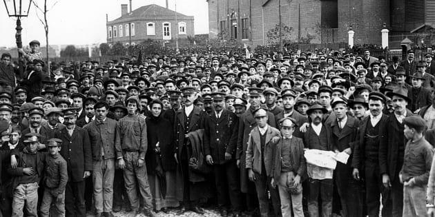 Em 1917, trabalhadores de São Paulo impulsionado por anarquistas cruzaram os braços e entraram para a História.