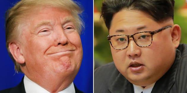 Donald Trump y Kim Jong Un, los mandatarios de EEUU y Corea del Norte.