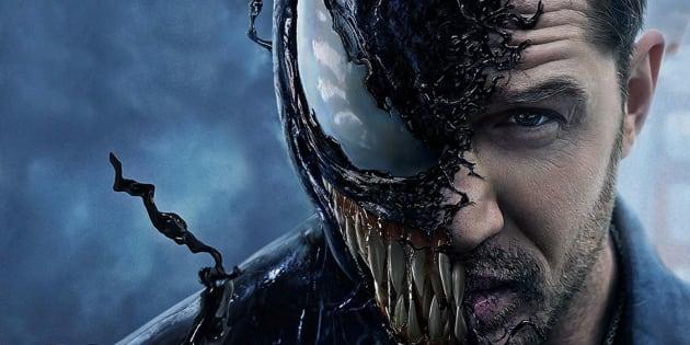 Tom Hardy dans le film «Venom».