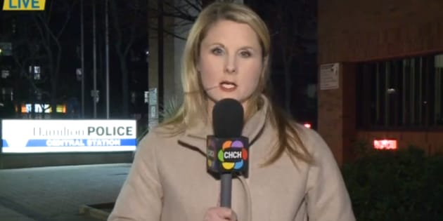 Hamilton, Ont. reporter Britt Dixon was harassed with the same vulgar phrase by three different men last week.