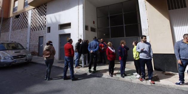 El lugar donde se ha detenido a la sospechosa de la muerte de Gabriel, en Vícar, Almería.