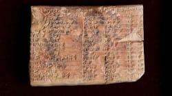 Questa tavola trigonometrica babilonese riscrive la storia della
