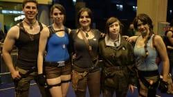 270 Lara Croft réunies à la Paris Games