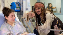 Watch: Johnny Depp Surprises Kids At B.C. Children's