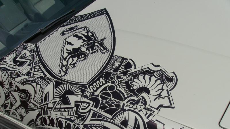 Automotive Artist Spotlight On Pinstripe Chris Autoblog