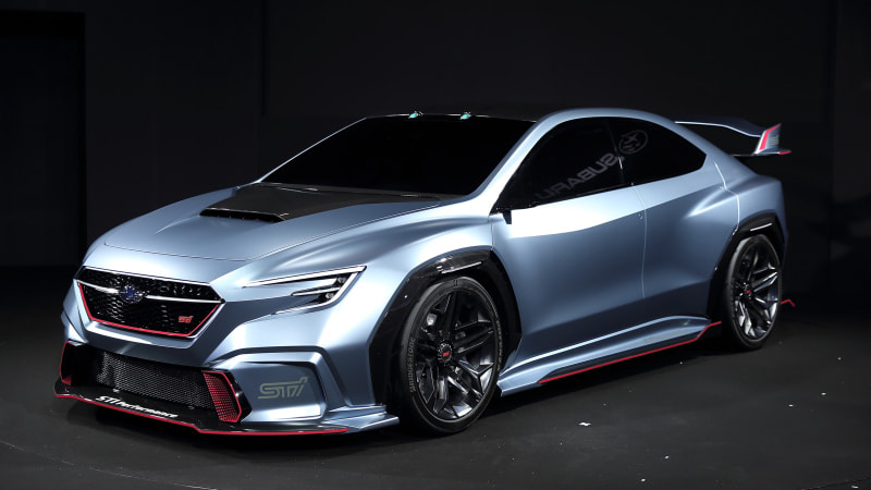 Subaru Viziv Performance STI Concept has us dreaming of a future WRX STI