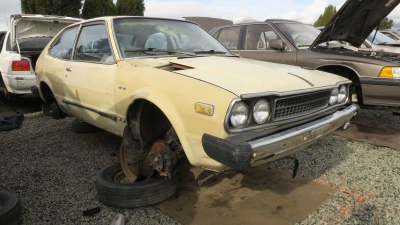 Junkyard Gem: 1979 Honda Accord Hatchback - Greater ...