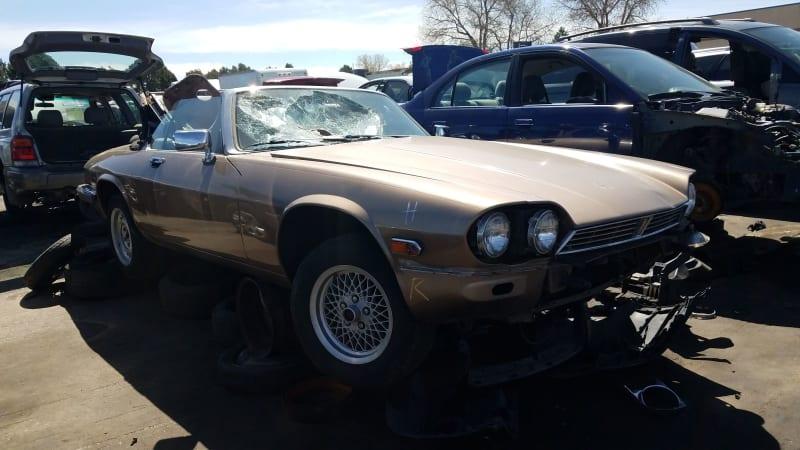 00+ +1990+jaguar+xj s+convertible+in+colorado+wrecking+yard+ +photo+by+murilee+martin