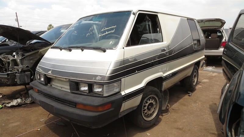 Junkyard Gem: 1986 Toyota Van conversion