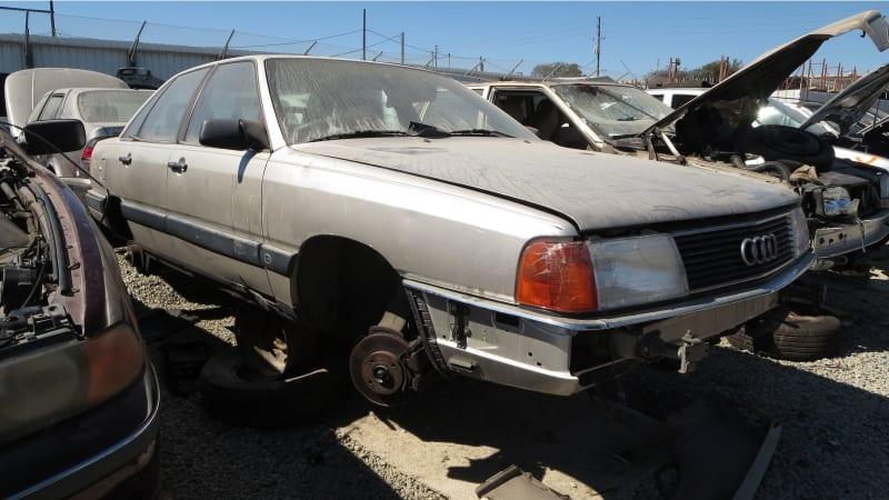 Junkyard Gem: 1987 Audi 5000 S