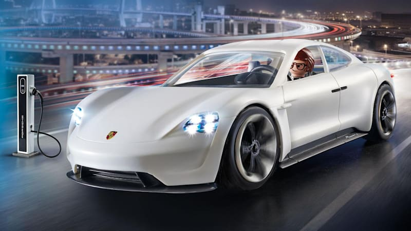 The Upcoming Porsche Taycan Electric Car Looks Like It Will Be Very Similar To Mission E Concept But We Know Won T Look Exactly Same