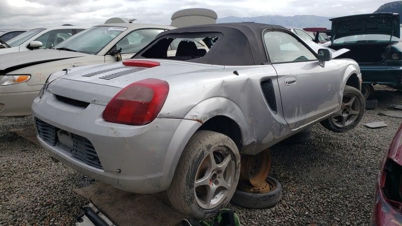 Junkyard Gem: 2002 Toyota MR2 Spyder