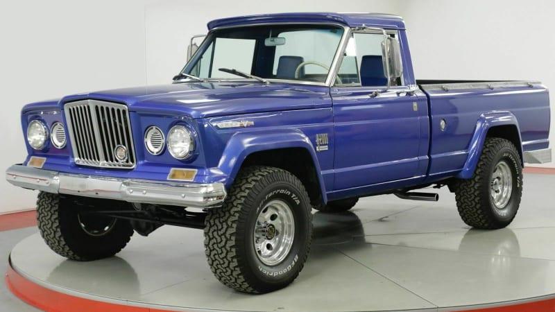Ebay Find Classic Jeep Gladiator Pickups Autoblog