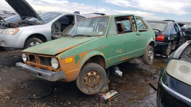 Junkyard Gem: 1977 Volkswagen Rabbit – Automotivetestdrivers com