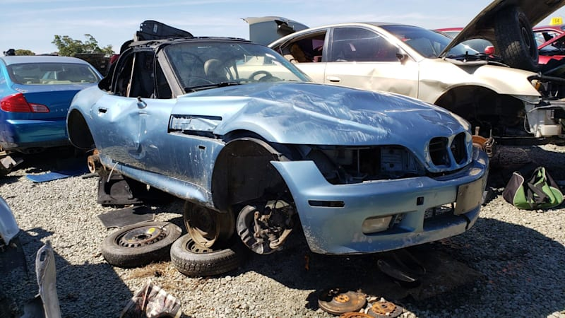 1996 BMW Z3 Roadster junkyard gem | Autoblog
