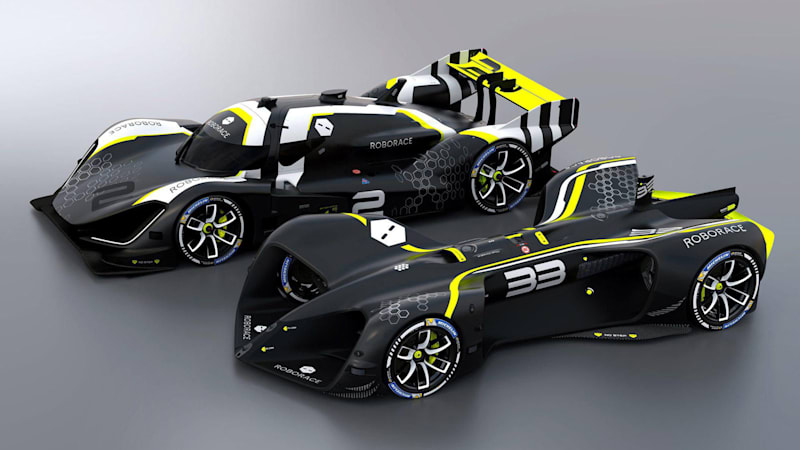 photo image Roborace won't use a fully driverless car for its first season