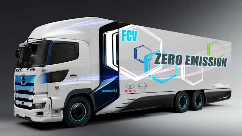 News post image: Toyota and Hino will develop a heavy-duty fuel-cell truck