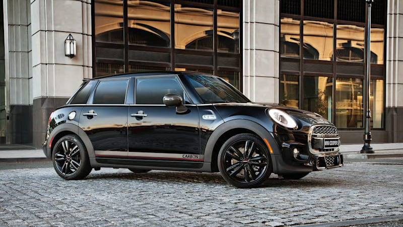 Mini Hardtop Four Door Carbon Edition Breaks Cover Update Autoblog