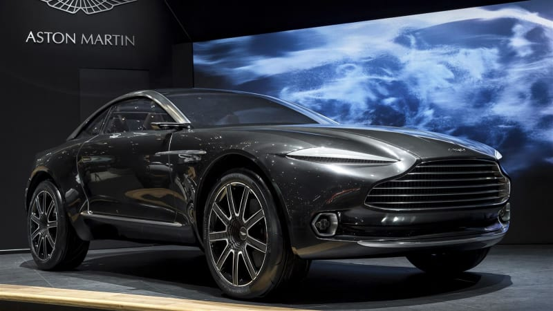 aston martin suv production confirmed to start in 2019 autoblog. Black Bedroom Furniture Sets. Home Design Ideas