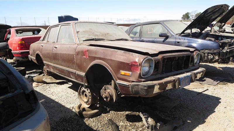 Junkyard Gem: 1979 Toyota Cressida Sedan