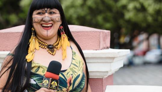 Dia 203: O sonho da indígena Kayna