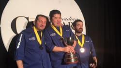 Le chef montréalais Eric Gonzalez remporte une médaille