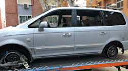 Detenido por conducir borracho y sin neumáticos por la M-30 de