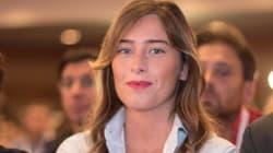 Il tributo appassionato della Boschi a Renzi nel giorno dell'elezione di Martina a segretario