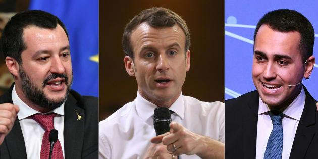 La coalition populiste au pouvoir en Italie est entrée dans un affrontement inédit avec le gouvernement français d'Emmanuel Macron.