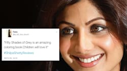 How A Gaffe By Shilpa Shetty Prompted Hilarious Single Line Book Reviews On