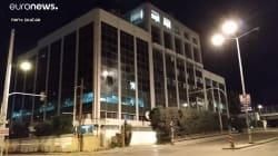 Estalla una bomba en la sede de una televisión griega y deja importantes daños