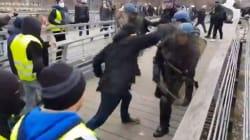 La vidéo d'un gendarme boxé par un manifestant déchaîne gilets jaunes et