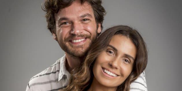 Beto Falcão (Emílio Dantas) e Luzia (Giovanna Antonelli) formam o casal de protagonistas de 'Segundo Sol'.