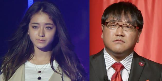 左:池田美優さん(2018年9月1日撮影)/右:カンニング竹山さん(2013年4月10日撮影)