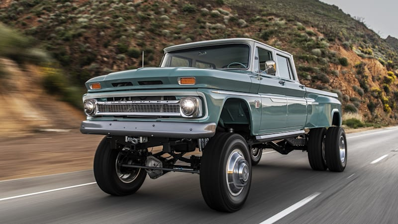 Rtech Fabrications Ponderosa truck is 20 feet long and very