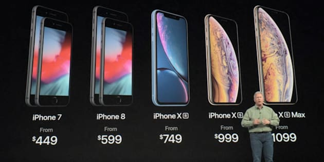 iPhone Xr: Comment le nouvel iPhone X low cost se situe par rapport au reste de la gamme Apple