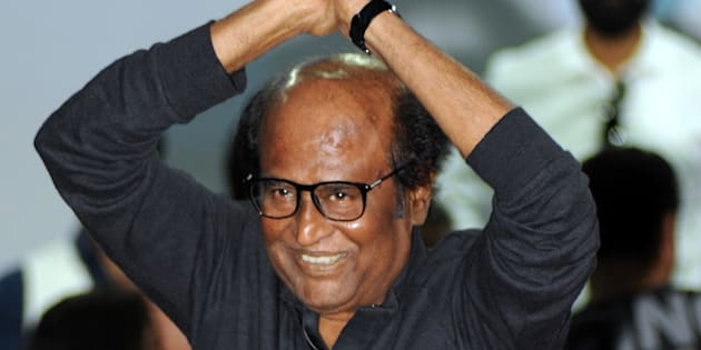 File photo of Indian actor Rajinikanth.