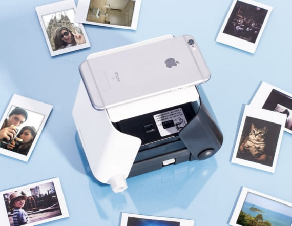Bring your camera roll to life with this printer