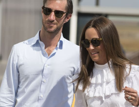 Pippa Middleton is back in England