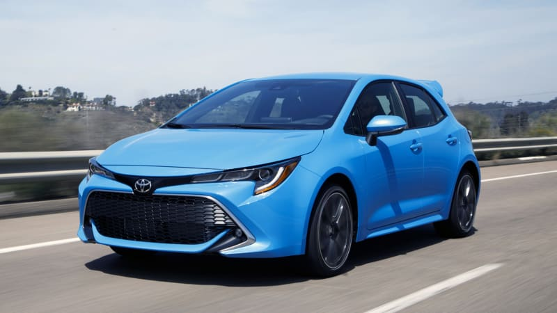2019 Toyota Corolla Hatchback Road Test Review Autoblog
