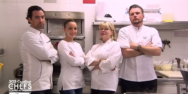 Des grands Chefs sont venus améliorer les repas de la cantine pour une émission télé — Béthune