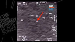 Declassified Military Video Shows Fast-Moving 'UFO' Tracked By Navy Fighter