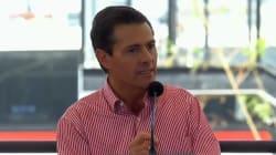 """VIDEO: Peña Nieto afirma que deja un """"México mejor que el de hace seis"""