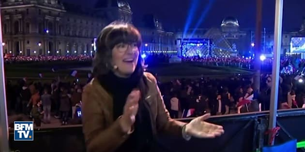 Cette journaliste de CNN n'a pas caché sa joie après la victoire d'Emmanuel Macron