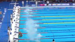 Spanish Swimmer Forfeits Race To Pay Tribute To Barcelona