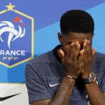 La célébration d'Umtiti sur le but de Ronaldo contre l'Espagne risque de mal passer à