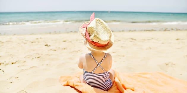 Mes 5 astuces pour aller à la plage avec un bébé   Le Huffington Post 7077bb947883
