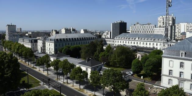 Le siège de la DGSE dans le XIXe arrondissement de Paris.